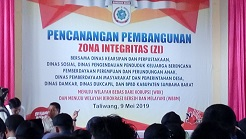 PENCADANGAN ZONA INTEGRITAS 2019
